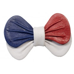 Tricolor rounded bow