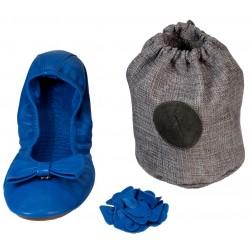 Pack ballerine bleue