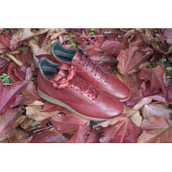Boots Montana rouge sauvage